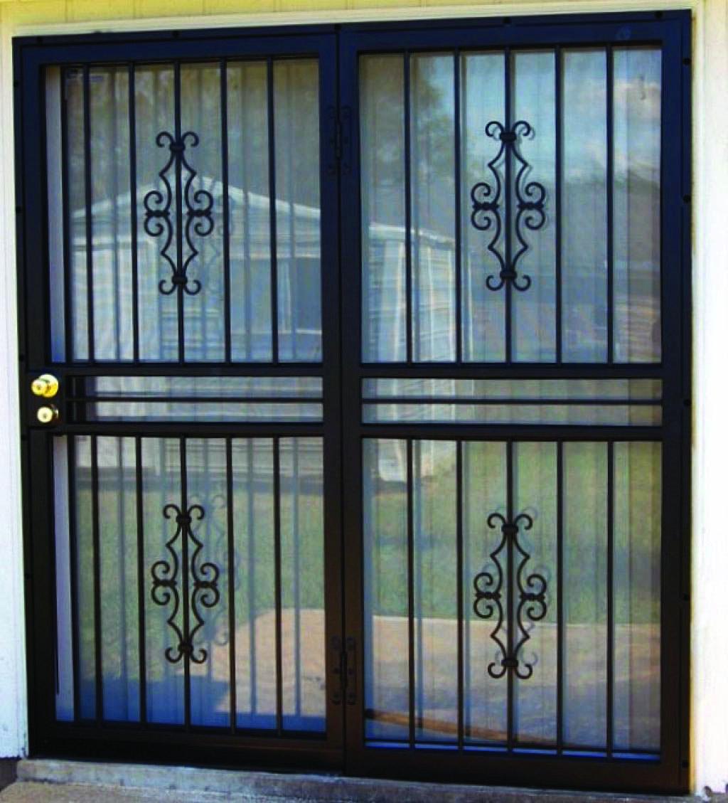 Moving Door Styles For Bedroom Homes Tre Steel Security Doors Sliding Glass Door Iron Security Doors