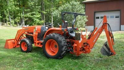 1995 kubota l2350 4wd wloader tractor and heavy equipment fandeluxe Choice Image