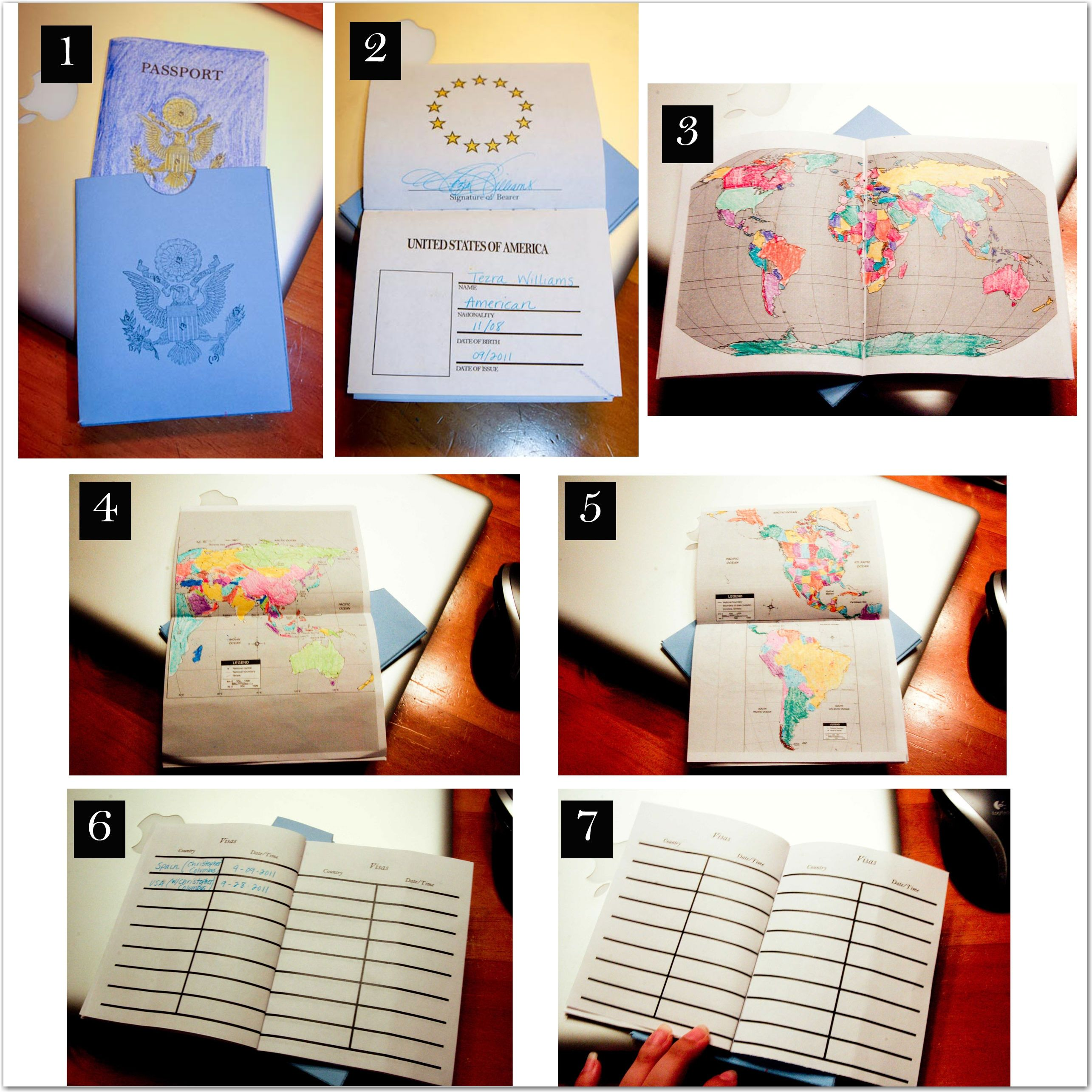Passports: Another music teacher plans to use these during their ...