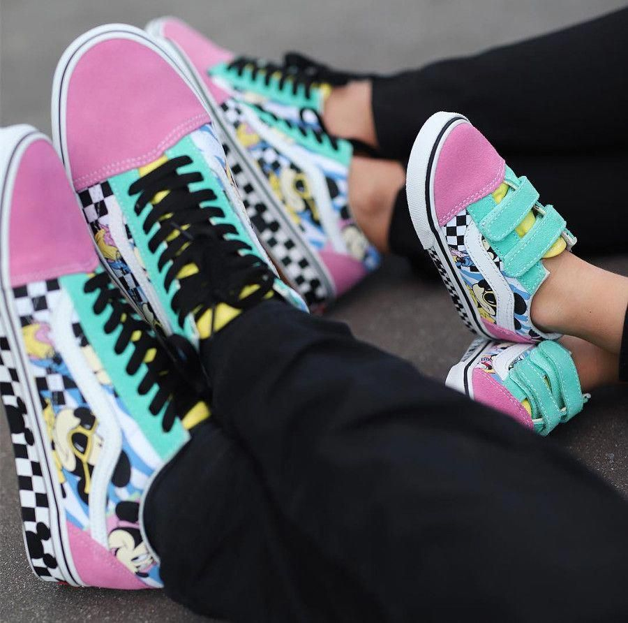 Disney x Vans Old Skool Mickey Mouse 90th Anniversary Mousercise ...