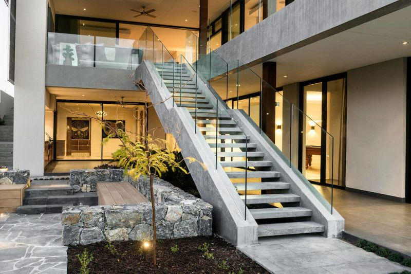 Modern home staircase designs staircases staircase for Custom staircase design