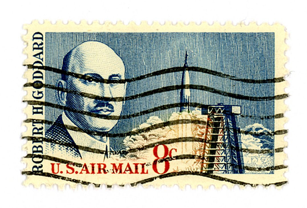 1964, Robert H. Goddard, Father of the Modern Rocket, United States