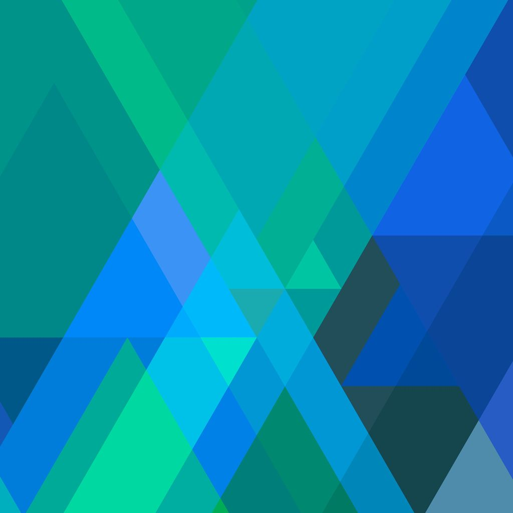 IOS 7 Triangles Forest #iPad #wallpaper