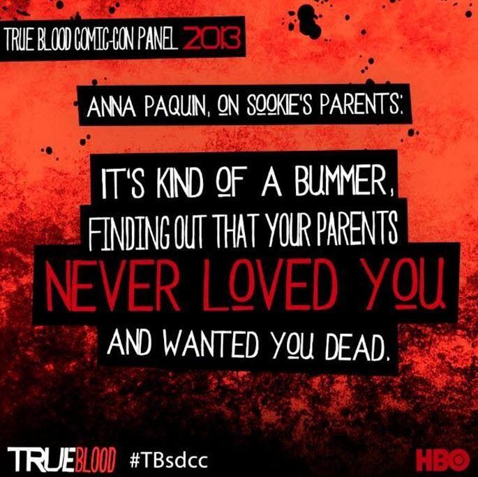 Comic con 2013 True Blood