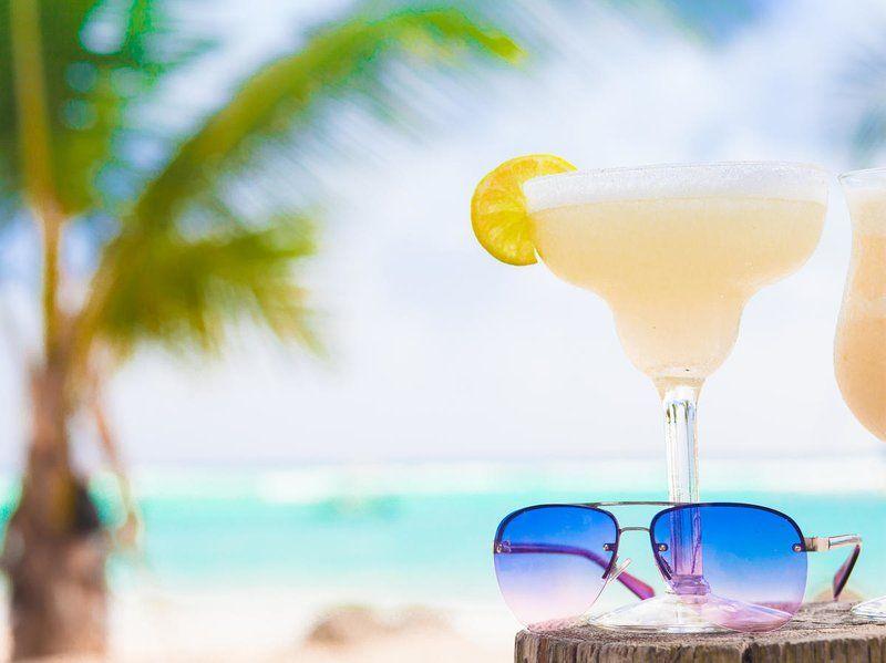 Frozen Margarita On The Beach