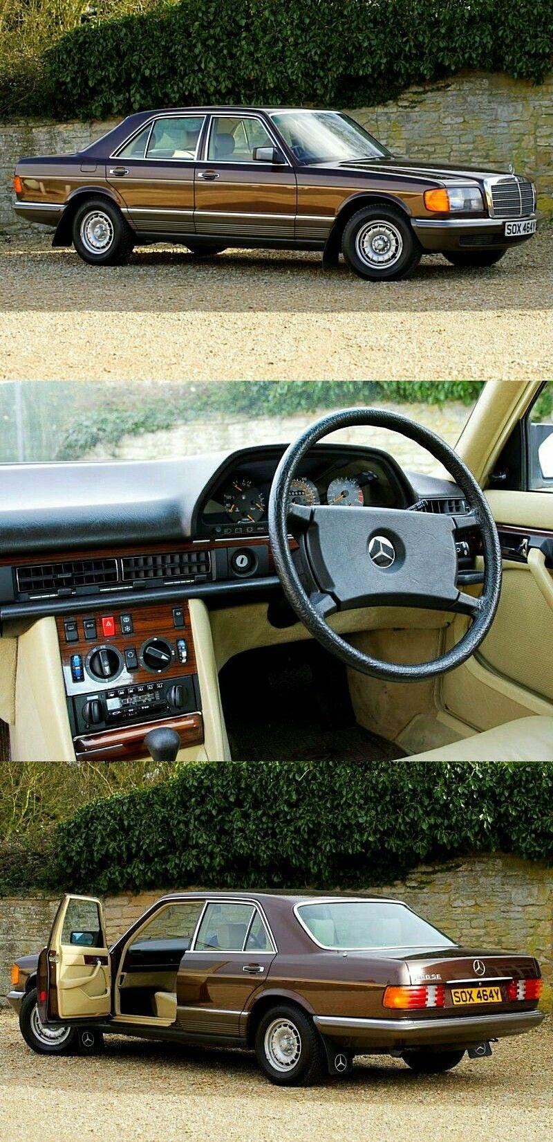 1983 Mercedes Benz 380SE 3.8 V8 Saloon