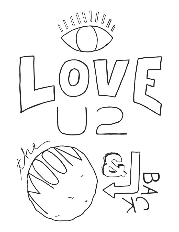 Coloring Sheet Love You To The Moon And Back Coloring Pages