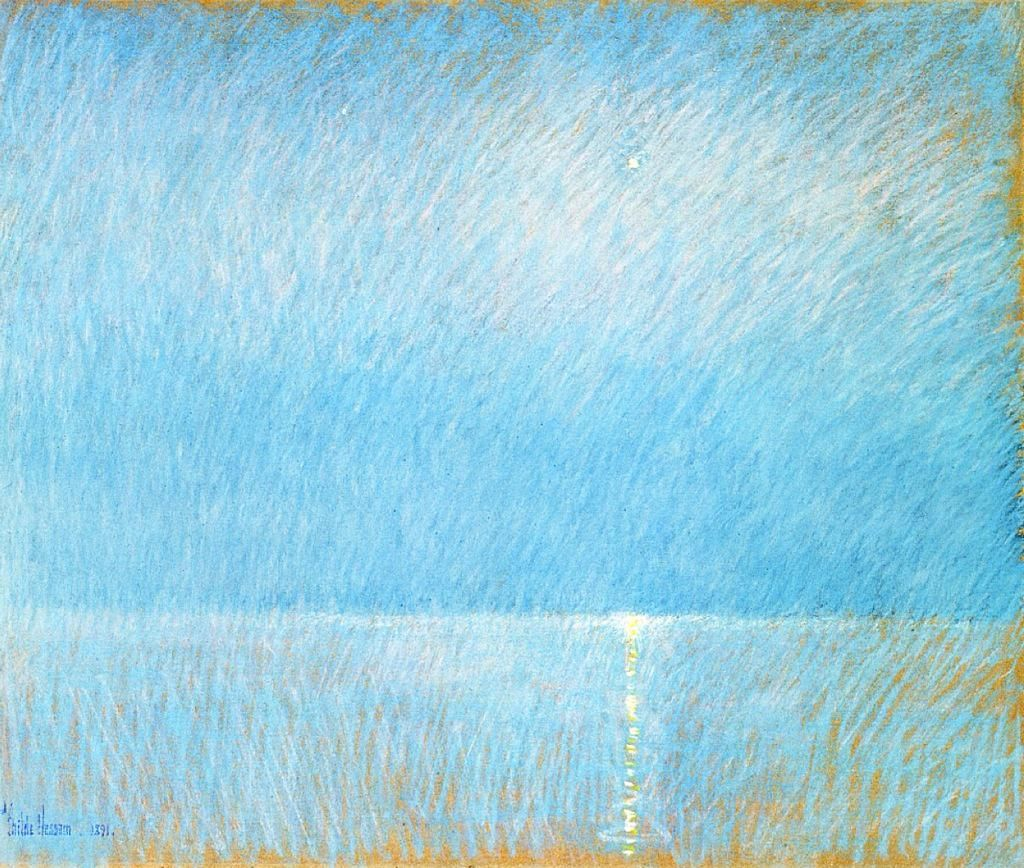The Evening Star, 1891, by Childe Hassam