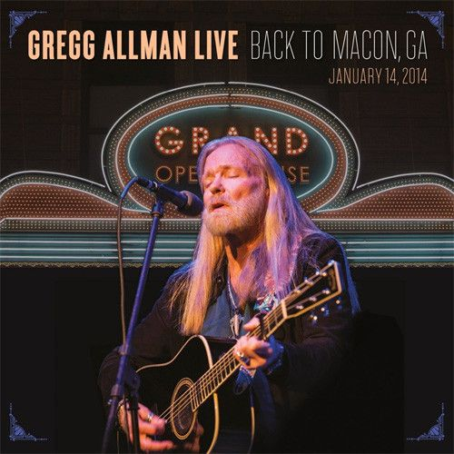 Gregg Allman Gregg Allman Live Back To Macon Ga Vinyl 2lp Allman Brothers Music Greggs