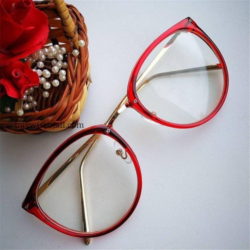 Photo of Women's Wide Frame Cat Eye Glasses