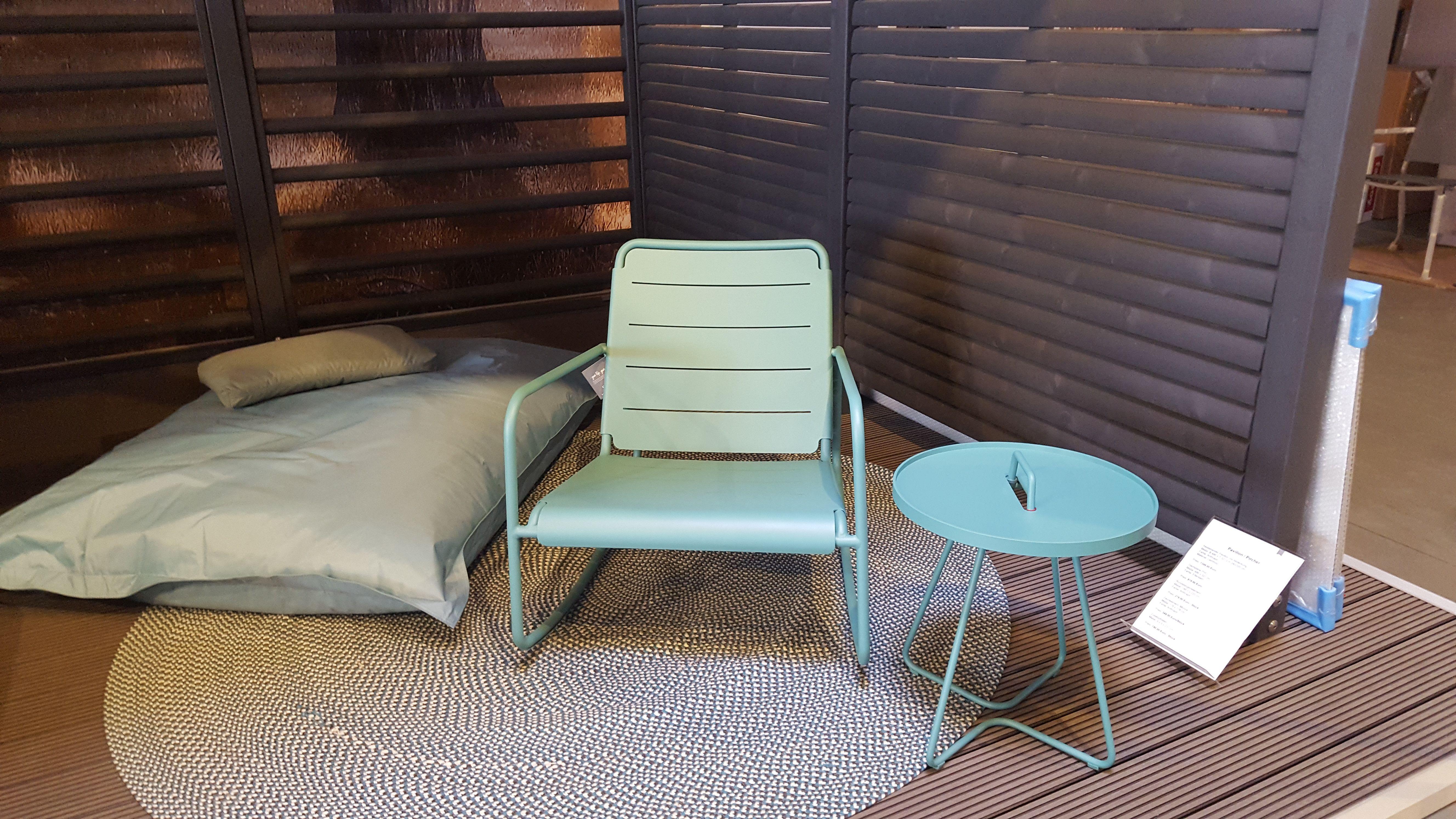 Schaukelstuhl Tablett Tisch Und Outdoor Teppich Von Cane Line