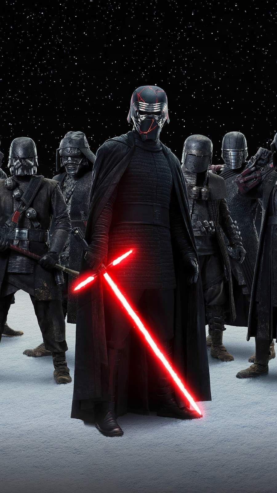 Star Wars Kylo Ren Army Iphone Wallpaper Star Wars Drawings Star Wars Pictures Star Wars Poster