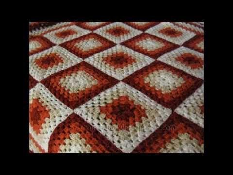 Resultado de imagen de manta crochet   Пледы   Pinterest
