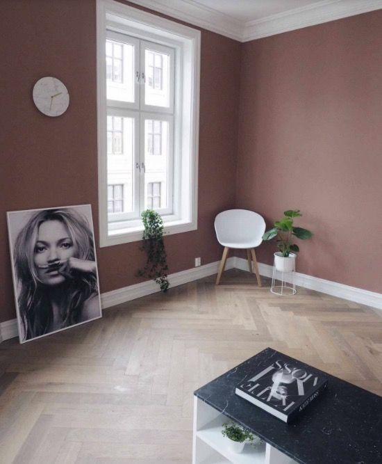Lene Orvik warm blush  LIVING ROOM in 2019  Huis