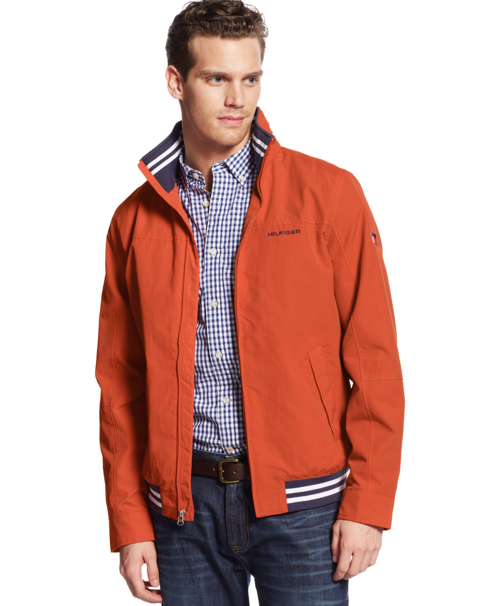 000421c50 Men's Regatta Jacket, Created for Macy's | Products | Tommy hilfiger ...