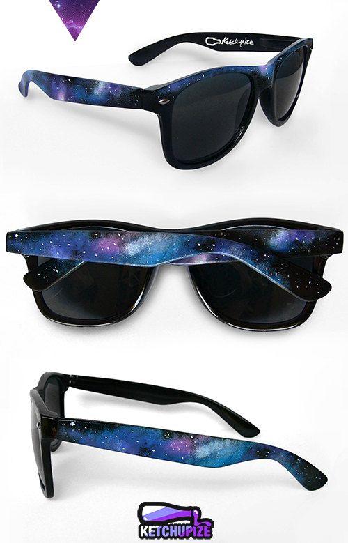 4b1543f2a92 Space Galaxy Nebula Cosmic Custom Wayfarer style by ketchupize ...