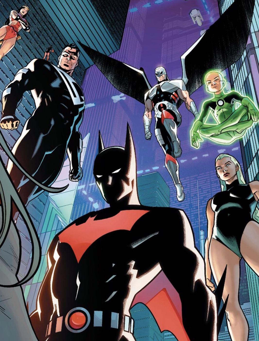 Justice League Beyond Marvel Heroes Comics Dark Comics Batman The Animated Series