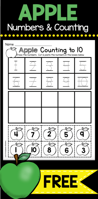 September Math and Literacy Pack - FREEBIES | Preschool ...