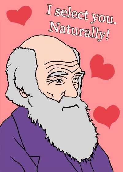 Darwin Day 2/12 + Valentines Day 2/14 = awesome | Holiday ...