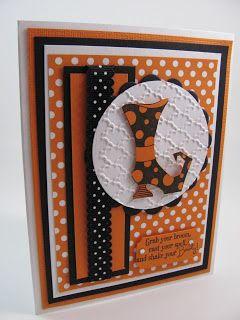 diy cards - Handmade Halloween Cards Pinterest