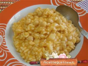 risotto patate e ceci