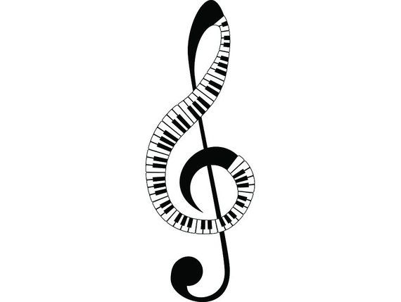 Sheet Music #4 Musical Note Symbol Treble Clef Classical