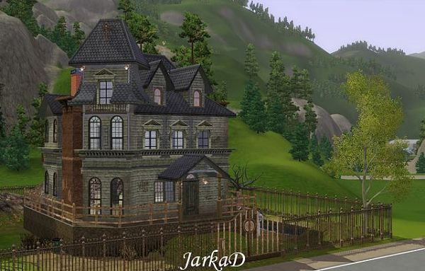 Sims 3 Updates Jarkad Sims3 Blog Adams Family House By Jarkad Addams Family House Adams Family House Old Houses