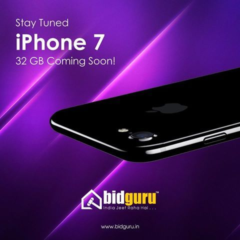 Bahut hua intezar, iss baar Bidguru le k aane wala hai super se bhi upper wala offer jiska hai apko teh dil se intezar. Ji haan, apka aur hum sab ka favourite & most desirable phone- iPhone 7 (32GB White Gold). Stay tuned for goodies!