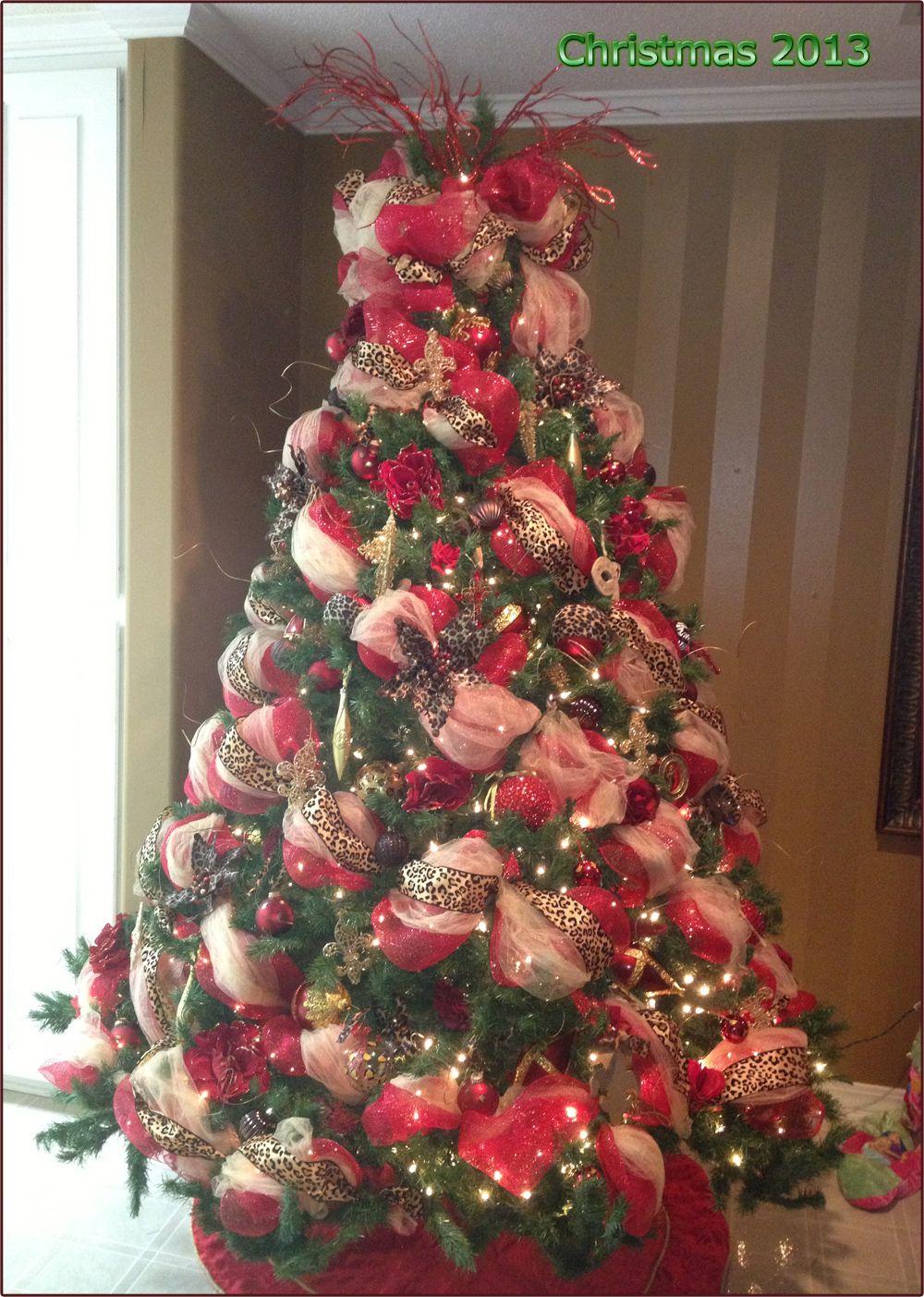 2012 Christmas Tree - LOVE THE BLING CHRISTMAS BRINGS!!