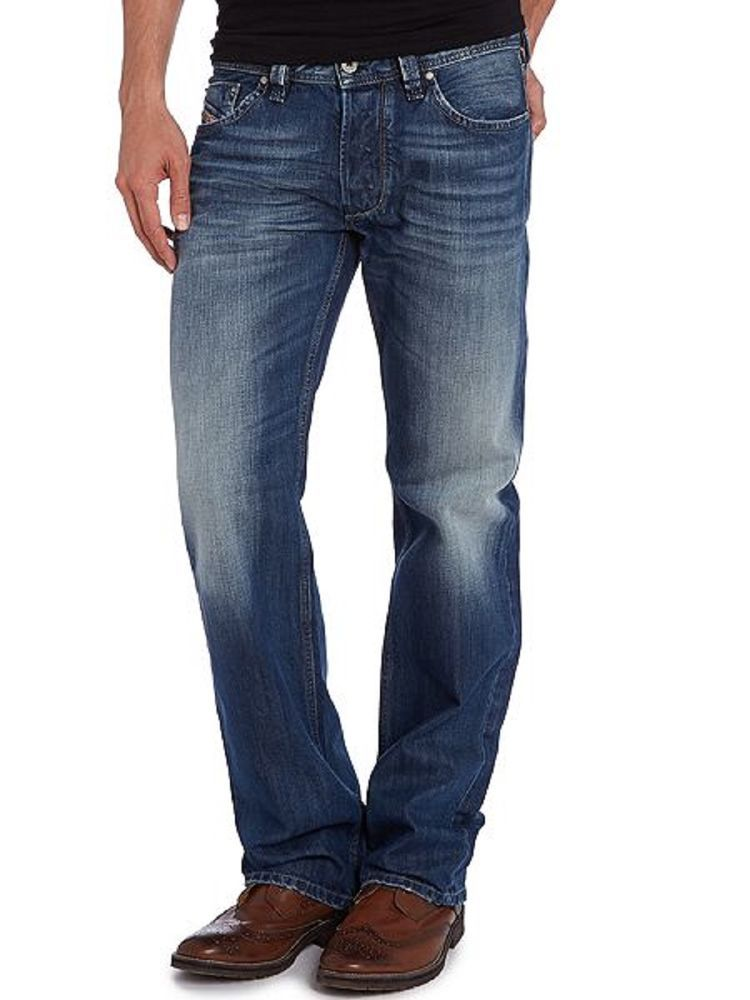 Mens Diesel Jeans Larkee 8XR 30 x 30 Regular Straight Authentic New