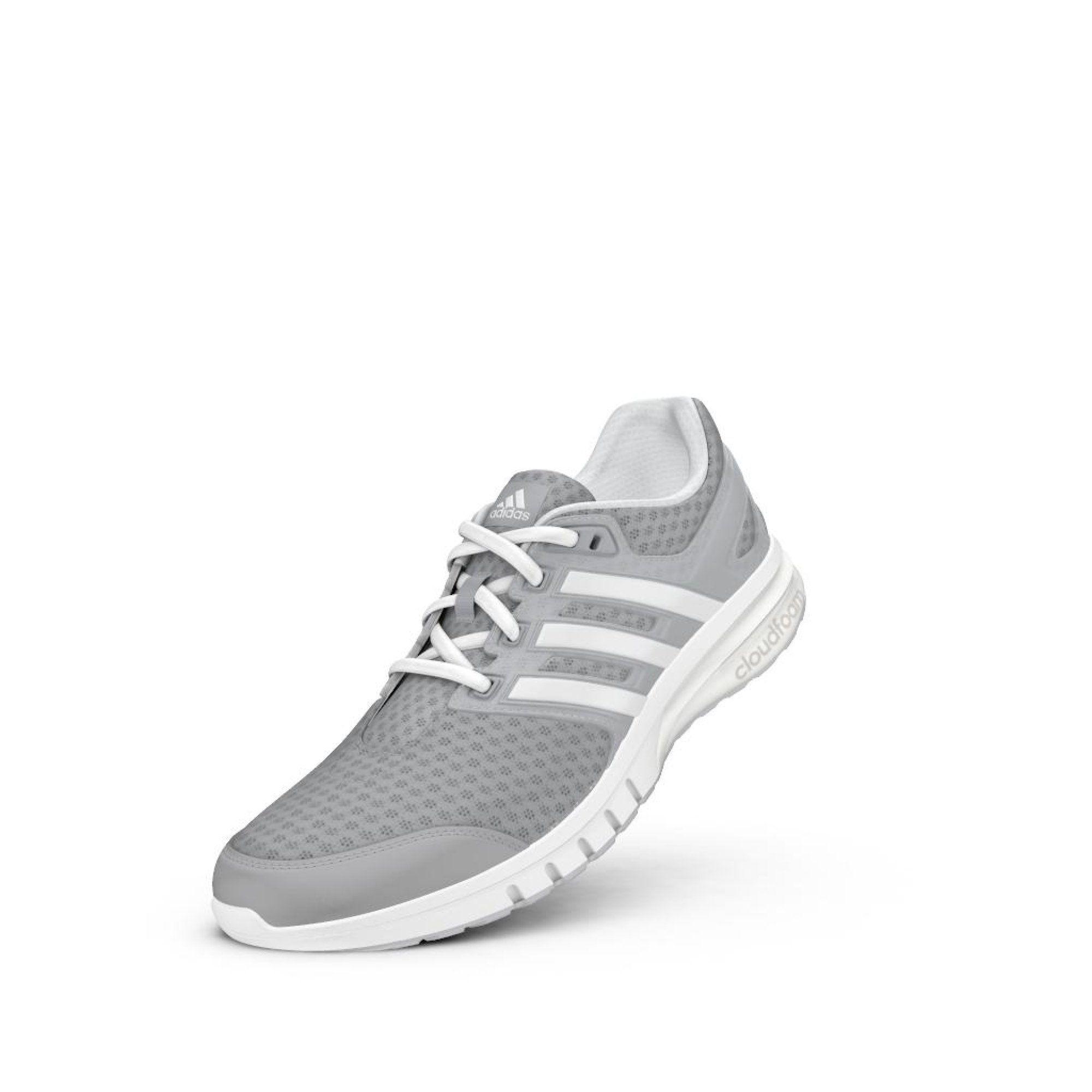 Adidas Performance  mujer 's Galaxy 2 Elite W corriendo zapatos , clara Onix