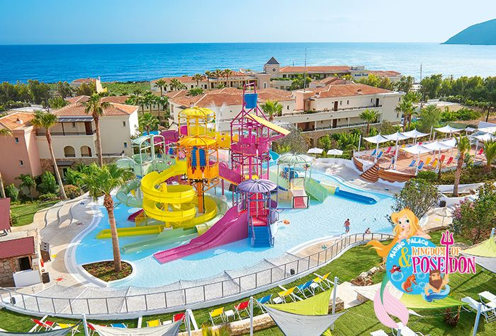 Club Marine Palace Best Hotel With Water Slides In