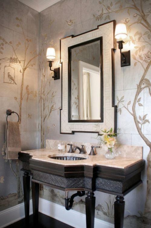12 Wohnideen Für Wandgestaltung Mit Schönen Tapeten   #Wandgestaltung