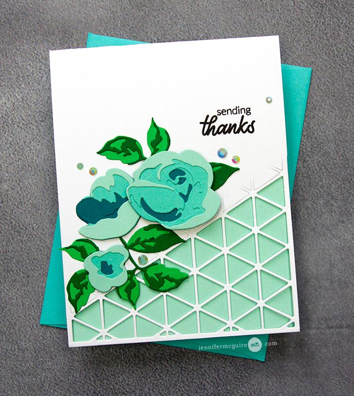 open border card design with images  jennifer mcguire ink