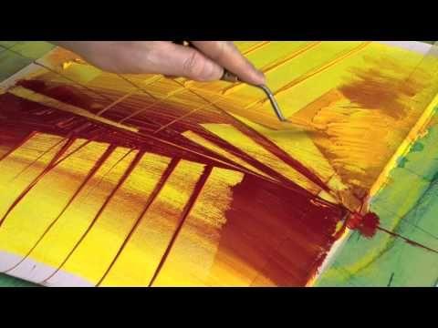 Dessin Et Peinture  Vido   Cration En Direct DUne Peinture