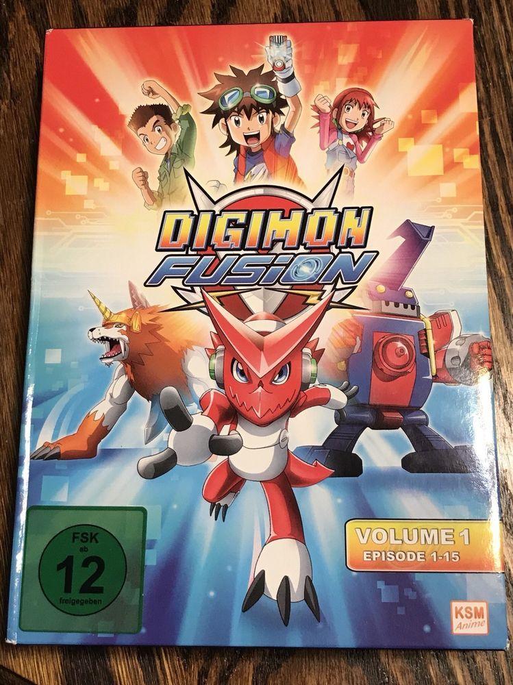 Digimon Fusion Season 1 Digimon Fusion Season 1 Vol 1 3pc Dvd New Digimon Fusion Digimon Digimon Digital Monsters