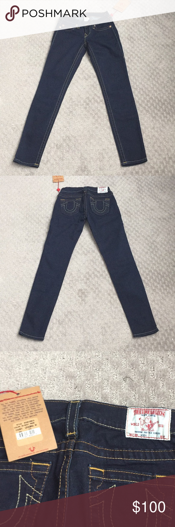 a58a73087 Brand new True Religion Casey legging size 26 Brand new with tag true  religion Casey legging in size 26 and 2-S body rinse color.