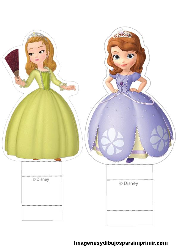personajes princesa sofia para recortar | caricaturas | Pinterest ...
