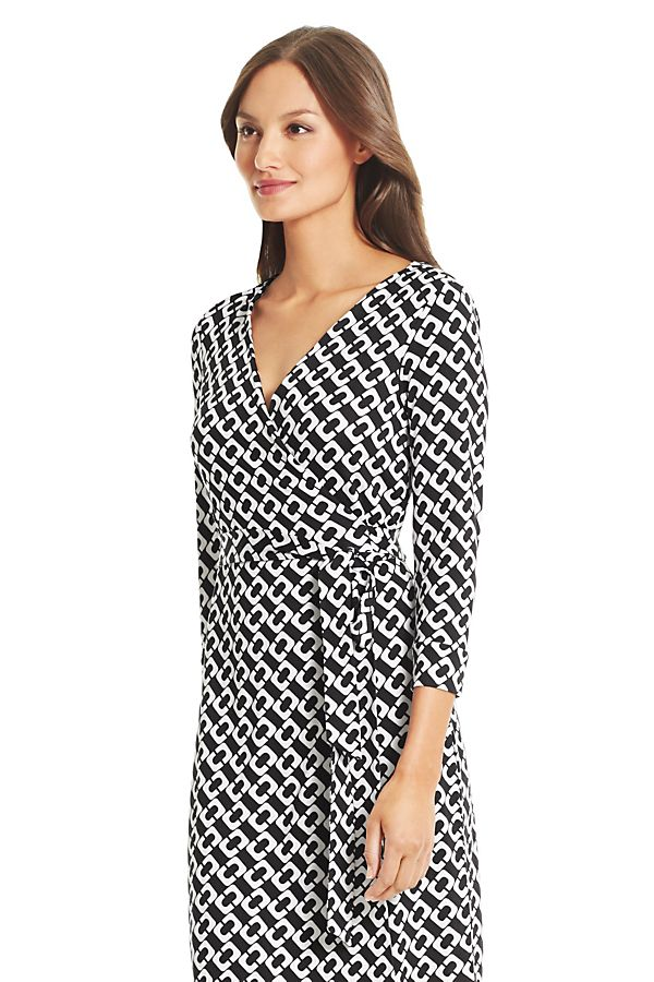 556dbb39dce18 Wrap Dresses & Wrap Around Dresses by DVF-Classic chain print ...