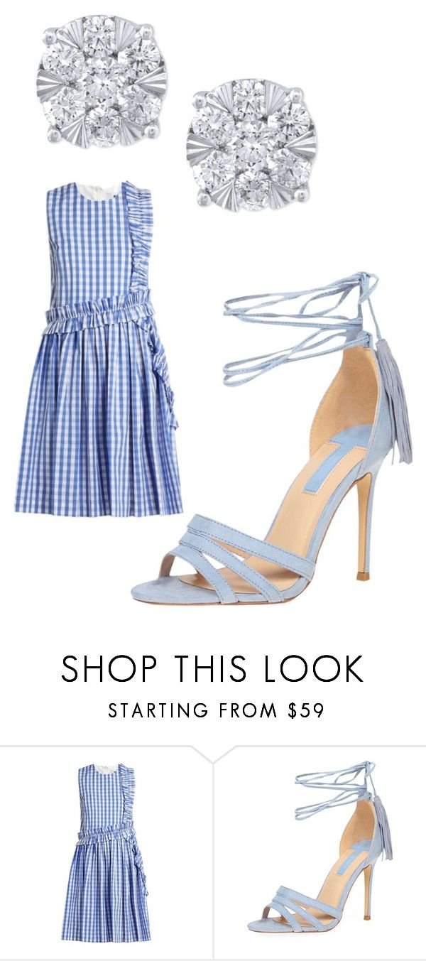 """""""Untitled #3661"""" by bellagioia ❤ liked on Polyvore featuring MSGM, Dorothy Perkins and Effy Jewelry"""