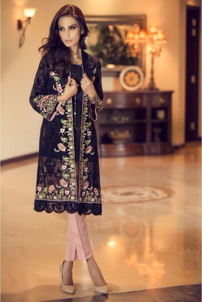 3 Anarkali Salwar Kameez Indian Bollywood Party Dress NewPakistani Punjabi  Suit 9868c97e45