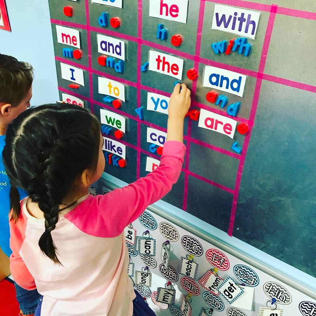 Magnet Board For Spelling And Sight Word Practice