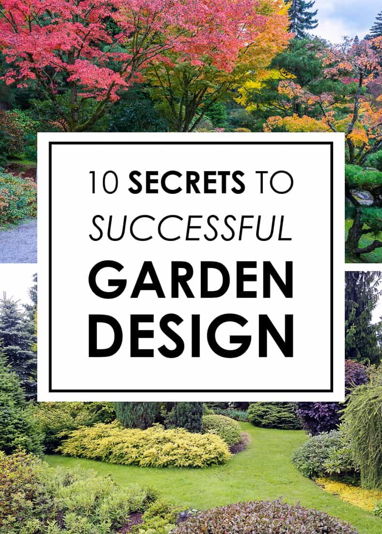 Landscape Design (10 Secrets to Designing a Beautiful Garden) - Gardening @ From House To Home