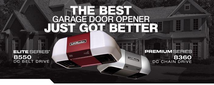 Introducing The Next Generation Of Liftmaster Garage Door Openers Liftmaster Garage Door Garage Doors Best Garage Door Opener