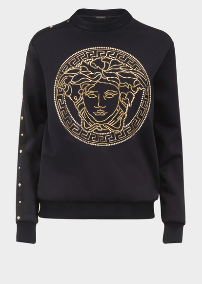 3198bc006 Medusa Embroidered Sweatshirt for Women | US Online Store | Jackets ...
