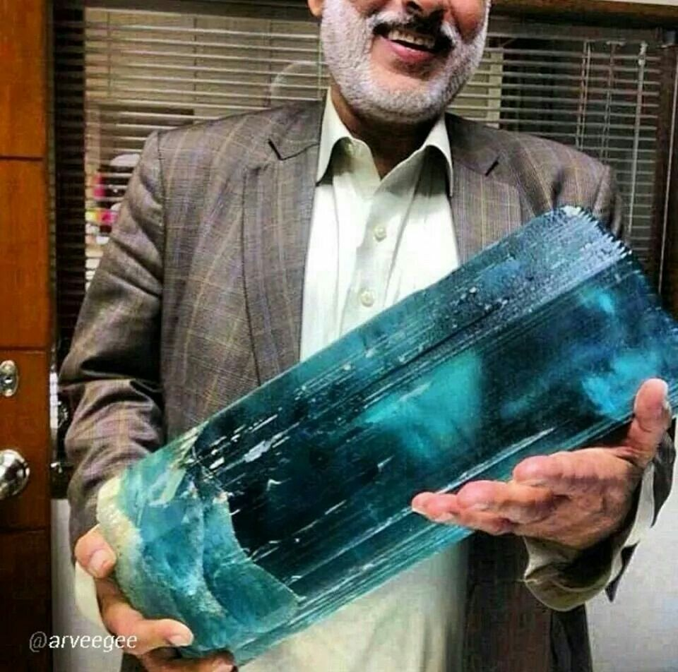 The World S Largest Aquamarine Crystals And Gemstones