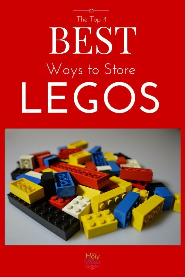 The Top 4 BEST Ways to Store Legos | Toy