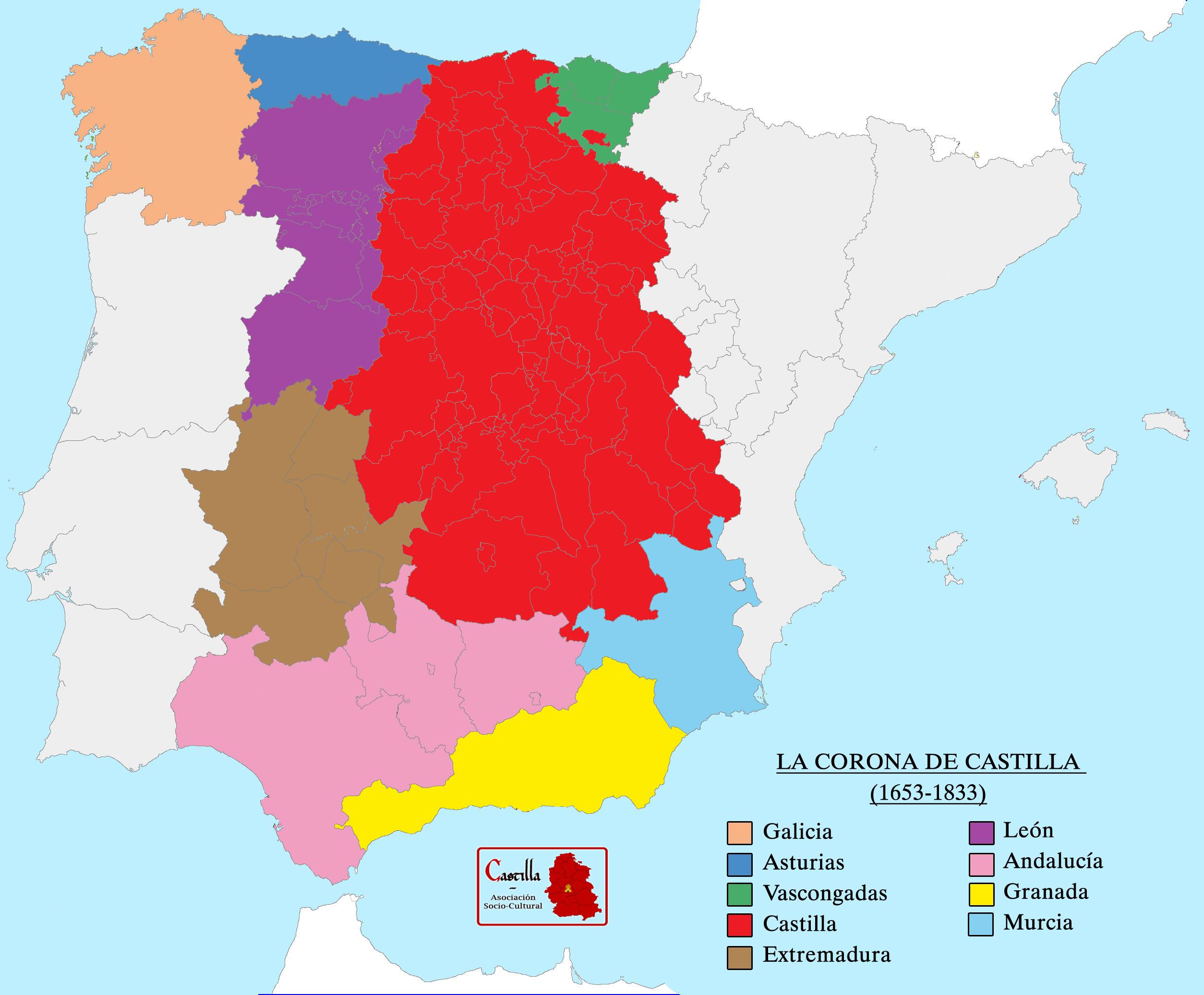 La Corona de Castilla despus de 1653 ao de la formacin de