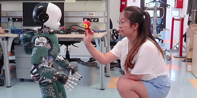 ICub Is The Robot That Is Equally Cute And Creepy