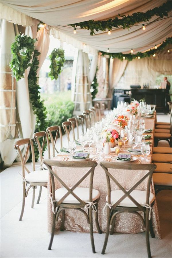 22 outdoor wedding tent decoration ideas every bride will love wedding decorations 22 outdoor wedding tent decoration ideas every bride will love junglespirit Images